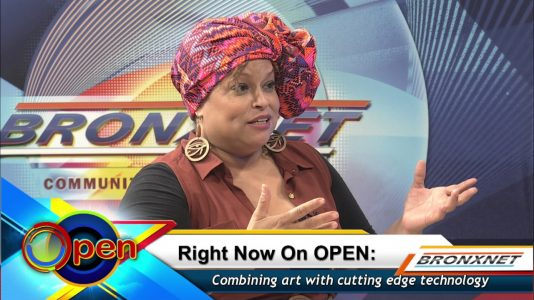 Bronxnet interview with Rhina Valentin about Daydreams