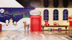 Santa Station Experience at Hudson Yards for Holiday 2020